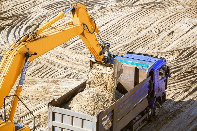 prace budowlane na nieutwardzonym terenie